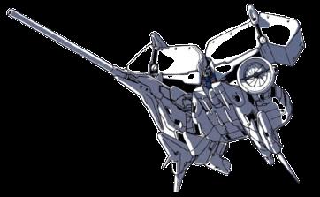 ガンダム試作3号機 デンドロビウム(機動戦士ガンダム0083):38.5m