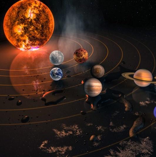 太陽系:15000000000000m