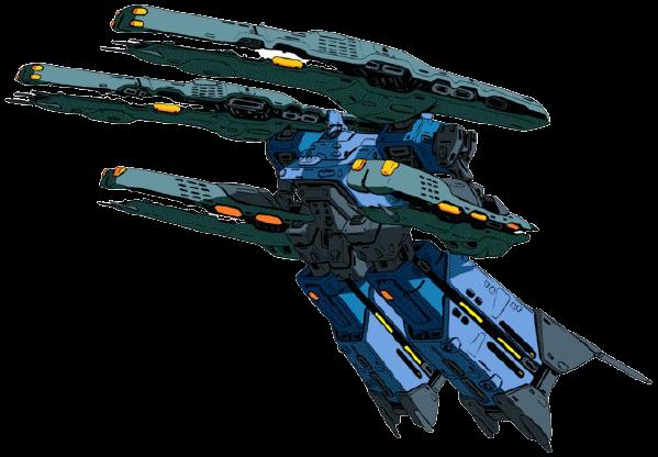 マクロスキャノンF(超時空要塞マクロスⅡ):4000m