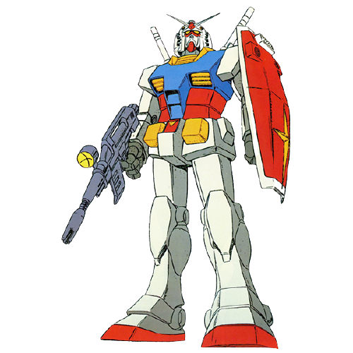 RX78-2ガンダム(機動戦士ガンダム):18.0m
